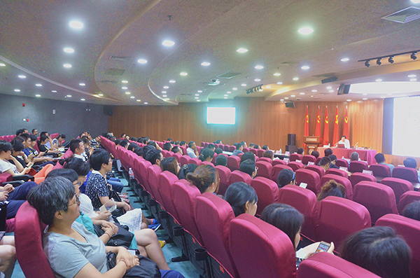 杭园协组织会员单位参加学习绿化文化专题讲座