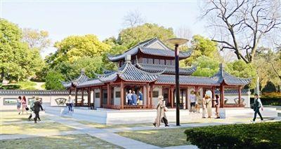 泰州:泰山公园升级改造 将新增景观亭