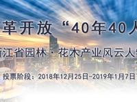 浙江省园林・花木产业风云人物评选投票开始