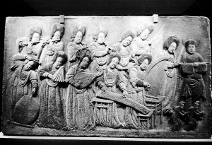 唐代石雕瑰宝《散乐图》赏析