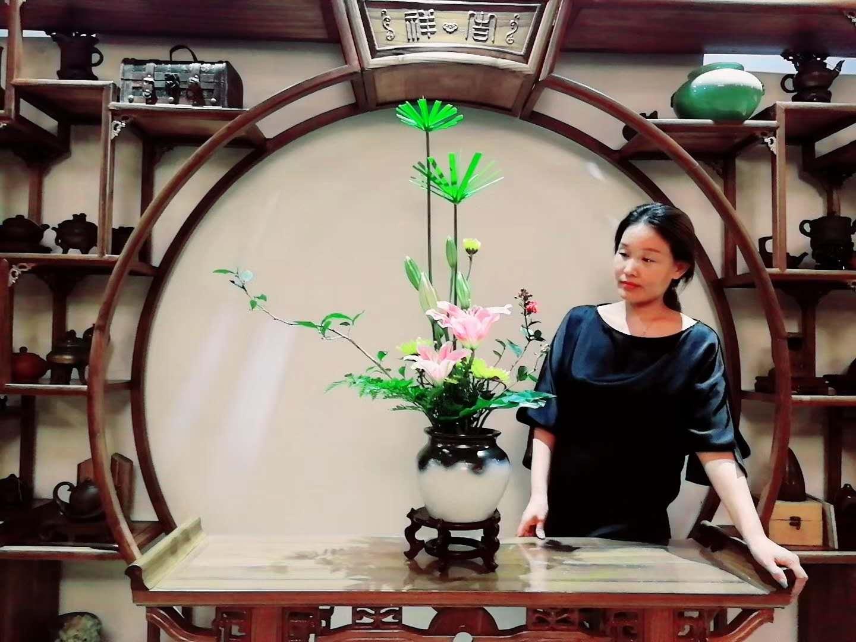 吴越流缸花作业