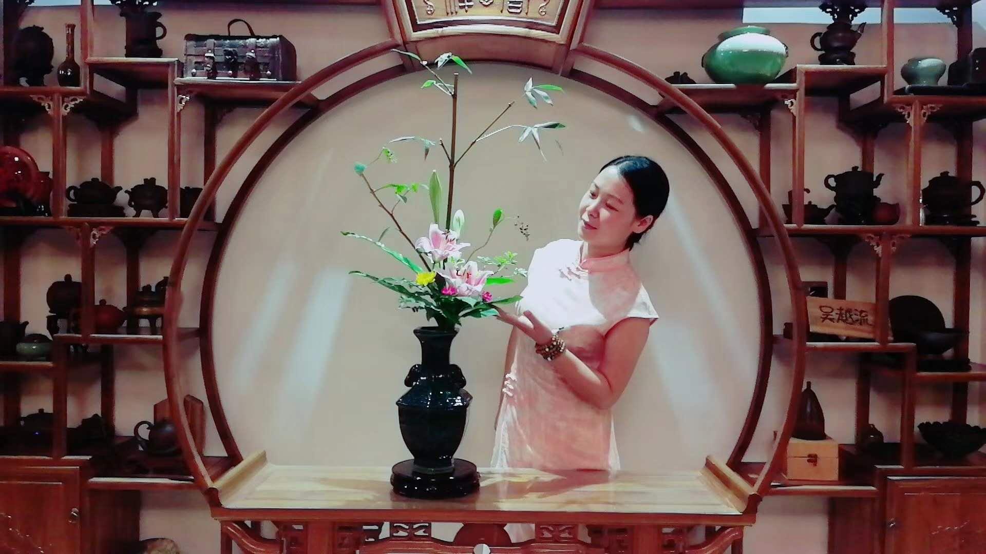 吴越流瓶花作业