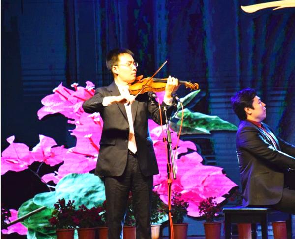 国内首场三角梅主题音乐会在昆明宜良精彩上演