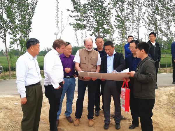 欧洲知名种苗企业助力菏泽苗木产业发展