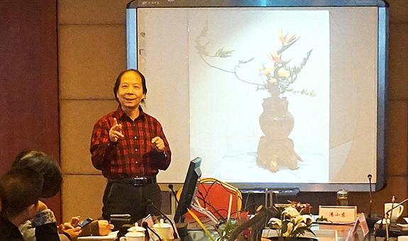 吴龙高:浙派插花从理论体系到教学体系的完善