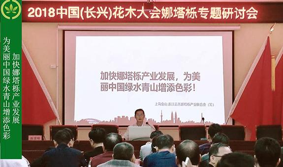姚忠贤:娜塔栎产业为美丽中国增添色彩
