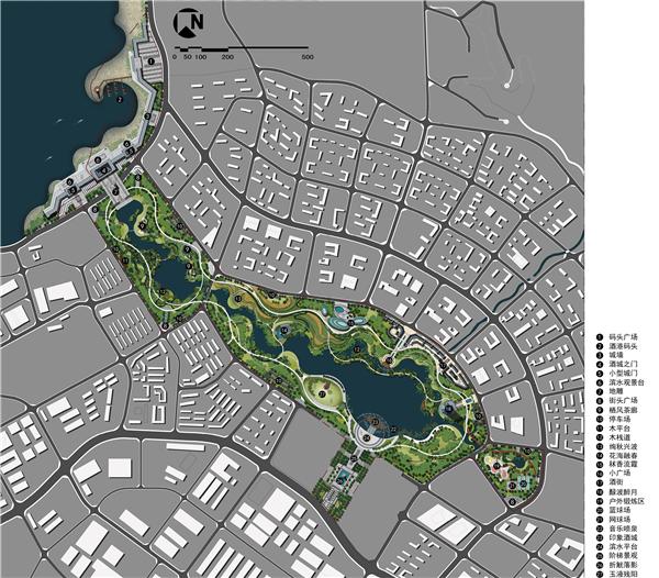 设计作品 城市公共绿地景观设计 >> 正文  整个空间环境结构如同一壶