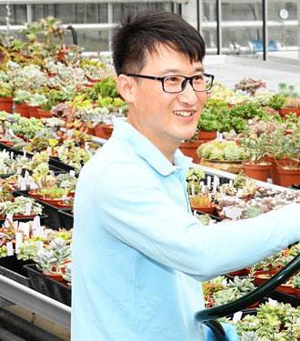 魏顶峰:有植物的地方就有家