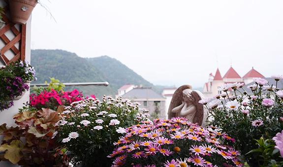 花园使用权纠纷?城市家庭阳台就是这么奢侈