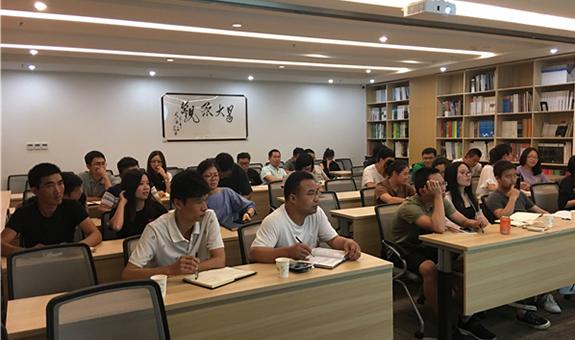时时讲究效率 事事讲究方法  ――杭州园林组织2018年工程系列职称申报辅导会