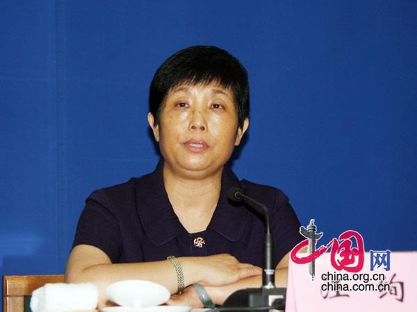 汪绚:中国始终坚持并推动森林可持续经营