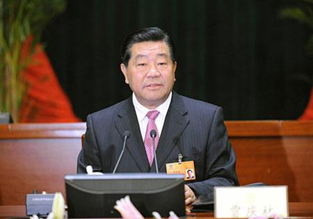 贾庆林:坚持不懈抓好生态建设 深入开展植树造林