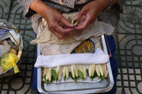 蛋糕竹篮编织步骤图解