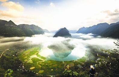 关于广西风景的文章