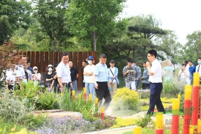 迎百年华诞 展生态花韵 河南省园林绿化花境竞赛在郑州响亮鸣锣