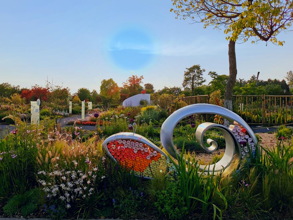 首届中国国际花境大赛作品:《蜗・窝》营造亲近自然享受自然意境